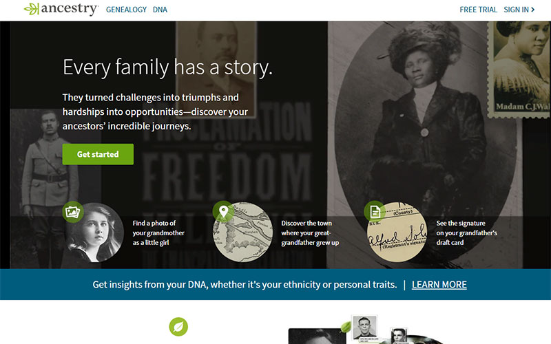 A subscription to a family tree service is one of our top genealogy tools and gadgets.