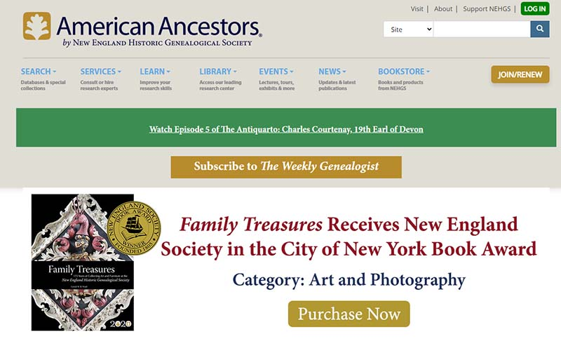 American Ancestors offers some of the best genealogy software that works with Ancestry